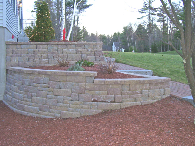 retaining wall for front garden