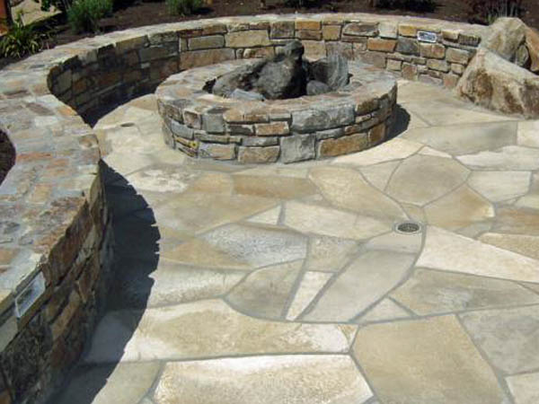 natural stone pavers for patio floor