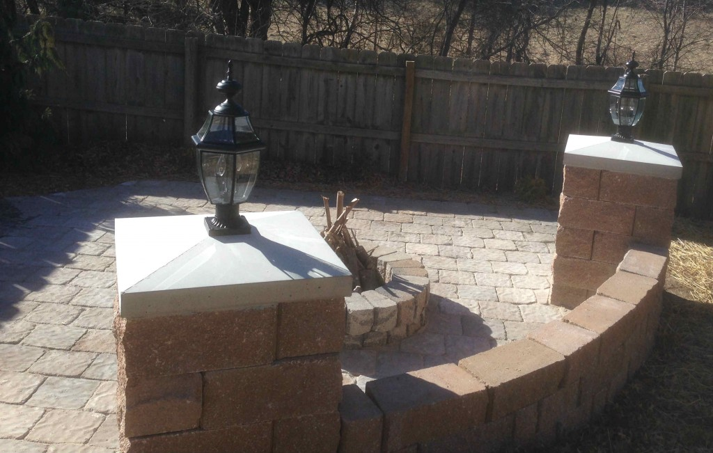 another view of the firepit